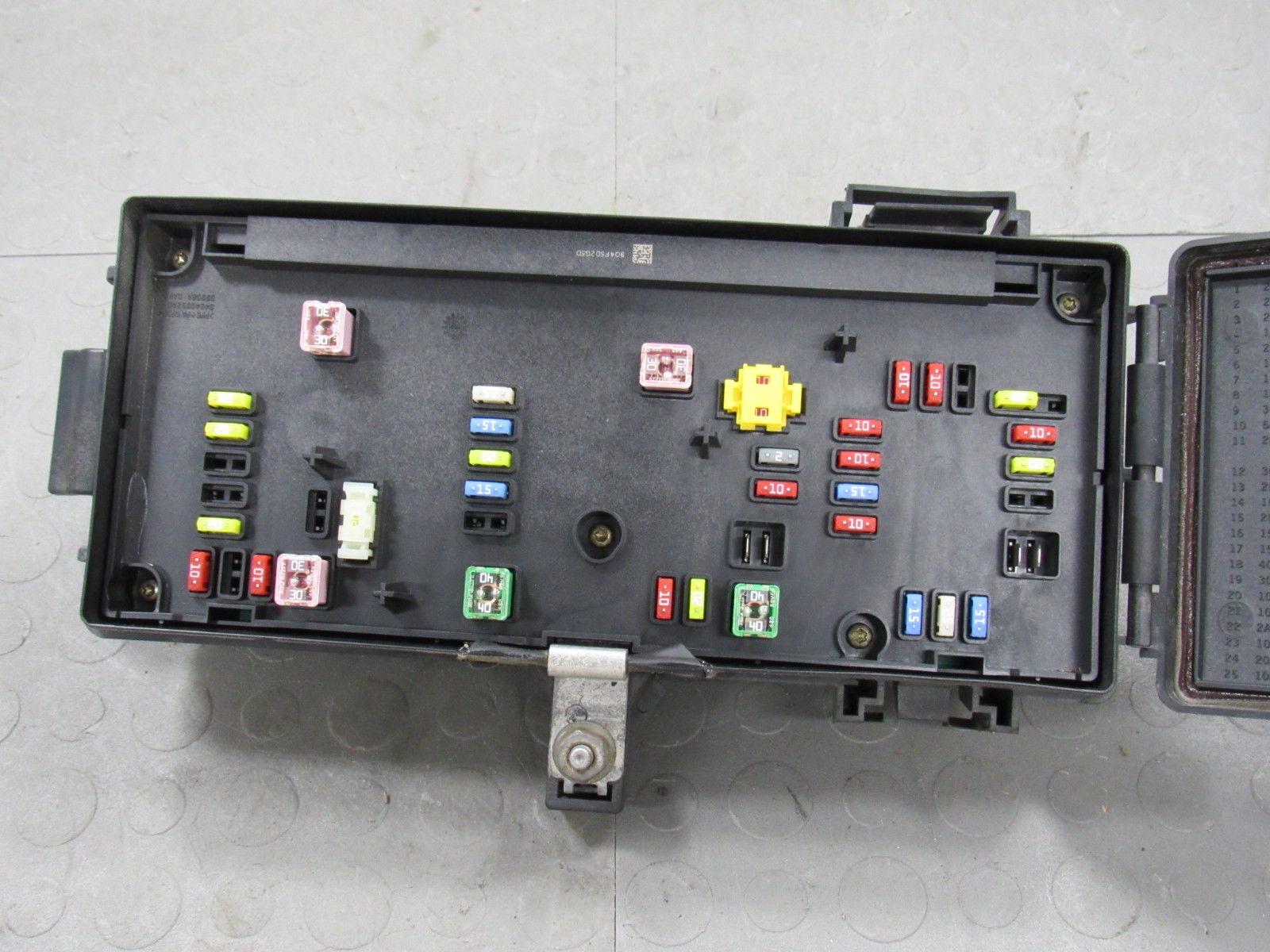 Tipm Fuse Box Fuel Pump & Relay Diagram \u2022 2011 Dodge Ram 2500 SLT 2011  Dodge Ram Fuse Box