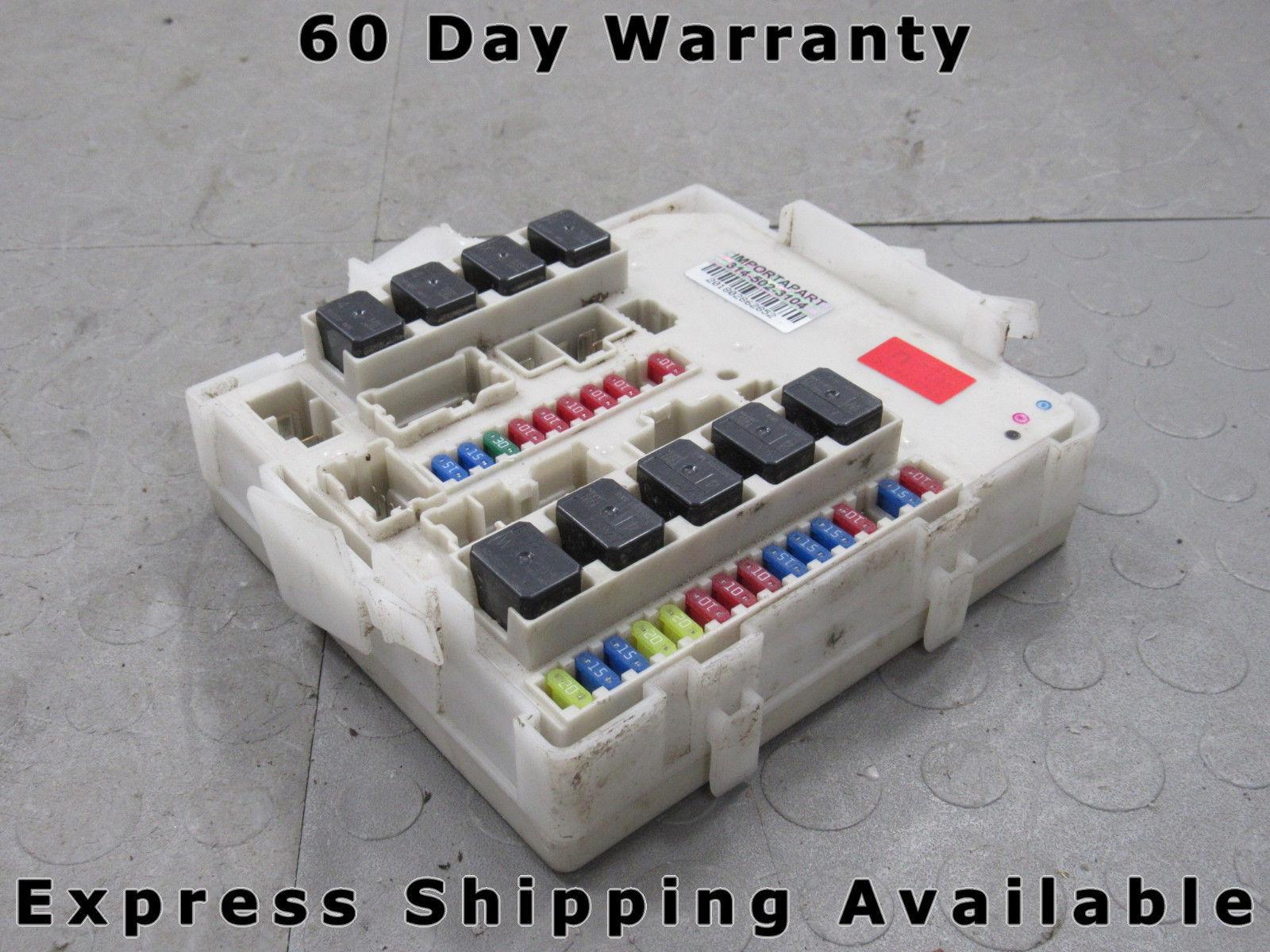 07 09 titan armada xterra qx56 ipdm bcm body module fuse box 284b6 rh  importapart com