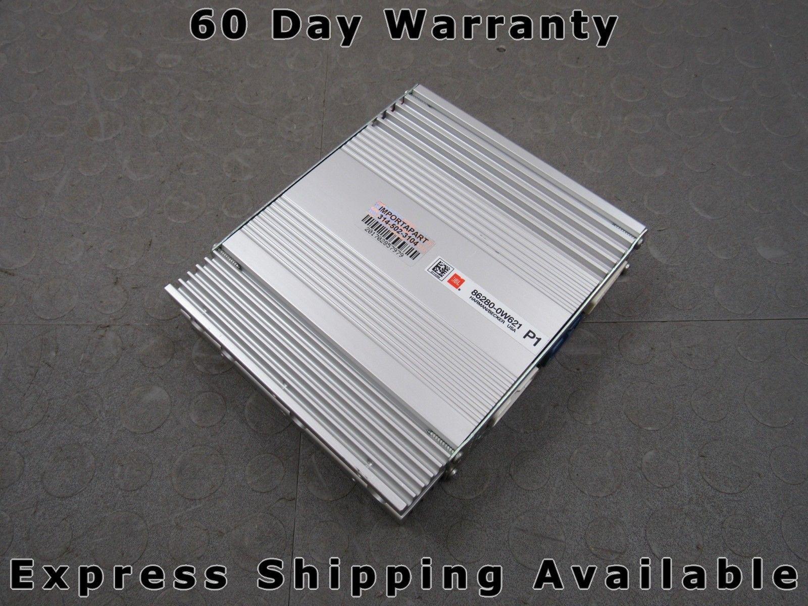 10-11 Prius JBL Harman/Becker Audio Radio Stereo Amplifier Amp 86280-0W621 C