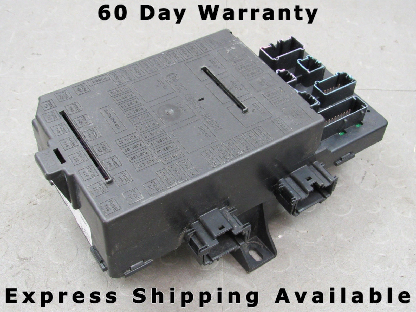 04 expedition navigator interior fuse relay box block center 4l7t 2011 jeep  patriot fuse box 04