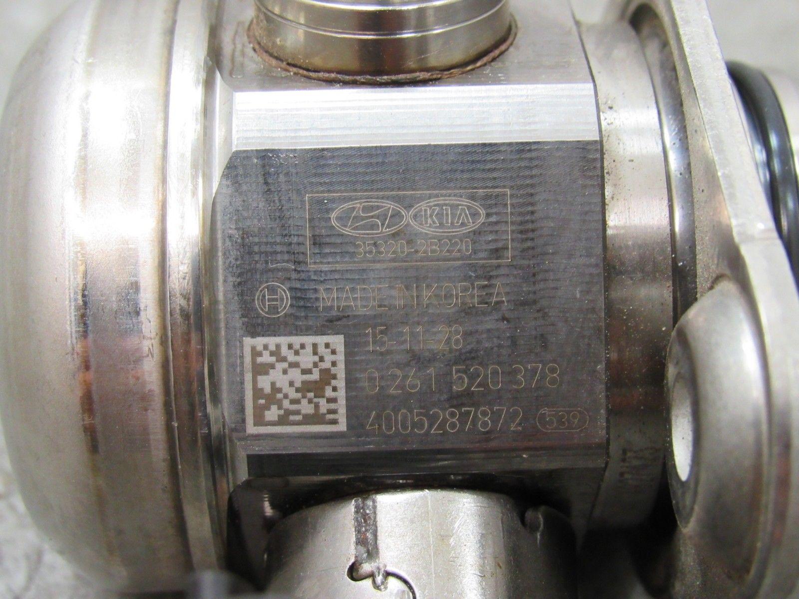 15 17 Sonata Accent Kia Rio 16l Gdi High Pressure Fuel Pump Oem 1 6l Engine 35320 2b220 M