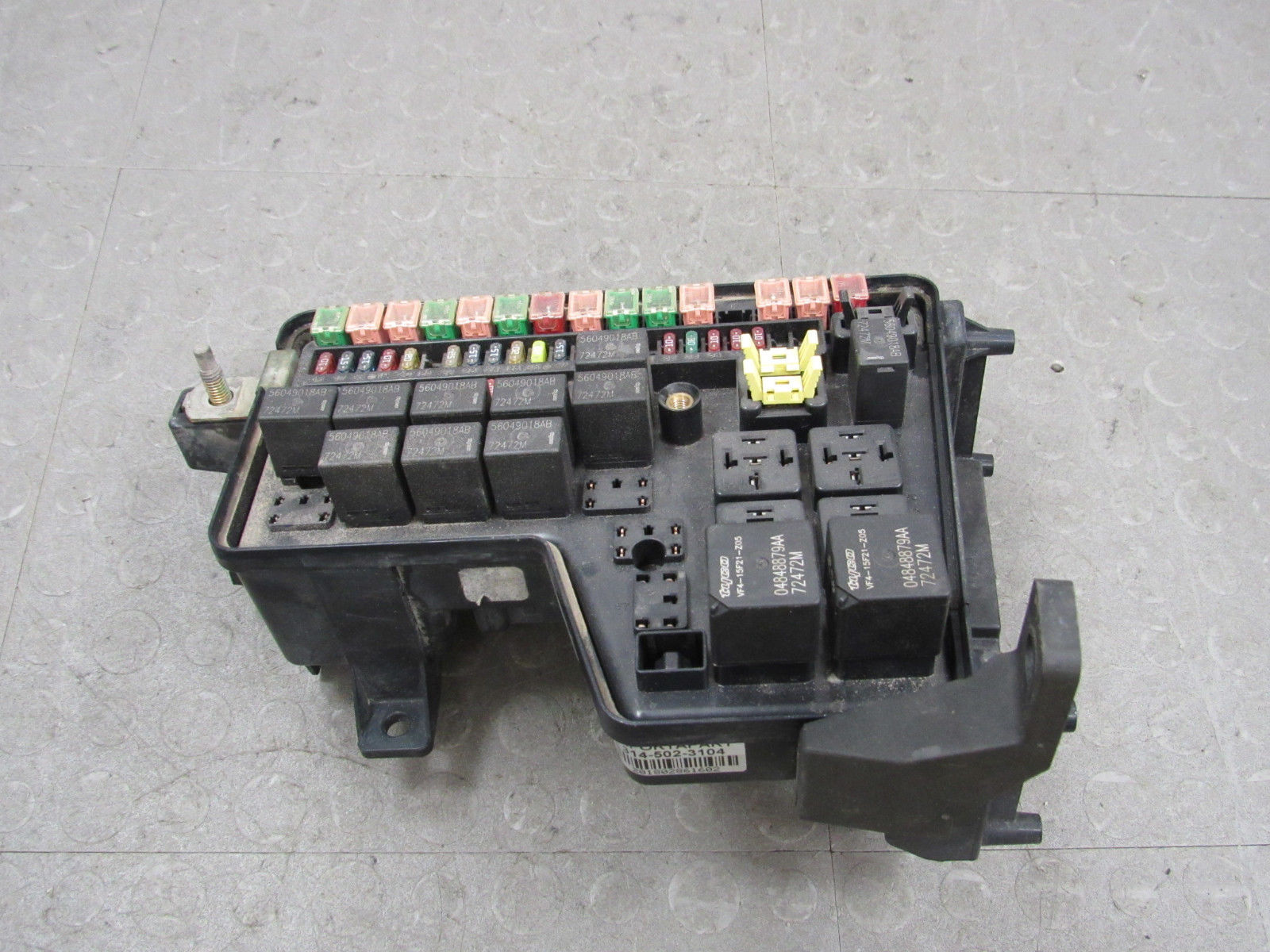 Dodge Ram Fuse Box Corrosion Opinions About Wiring Diagram 2006 1500 Truck 02 03 Integrated Power Distribution Module Rh Importapart Com 2008 1997