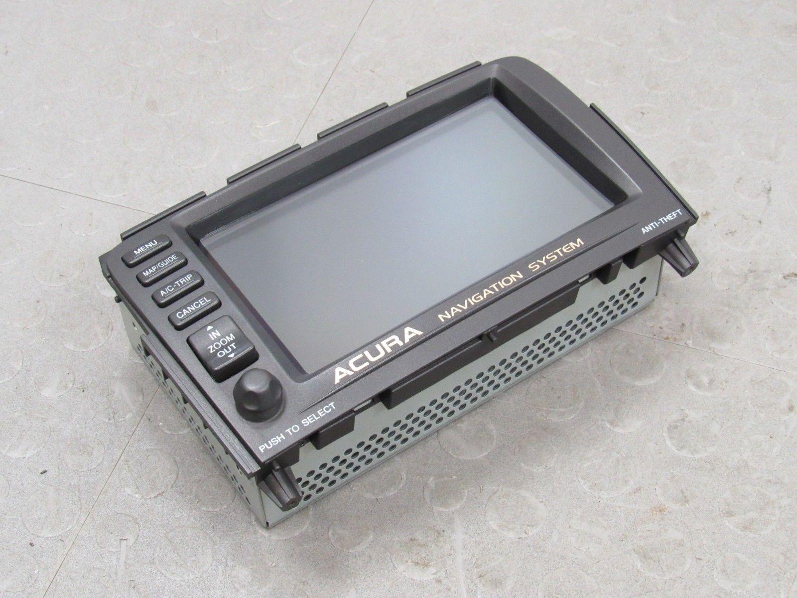 Acura MDX Navigation Navi GPS System Dash Mounted Display - Acura mdx navigation system