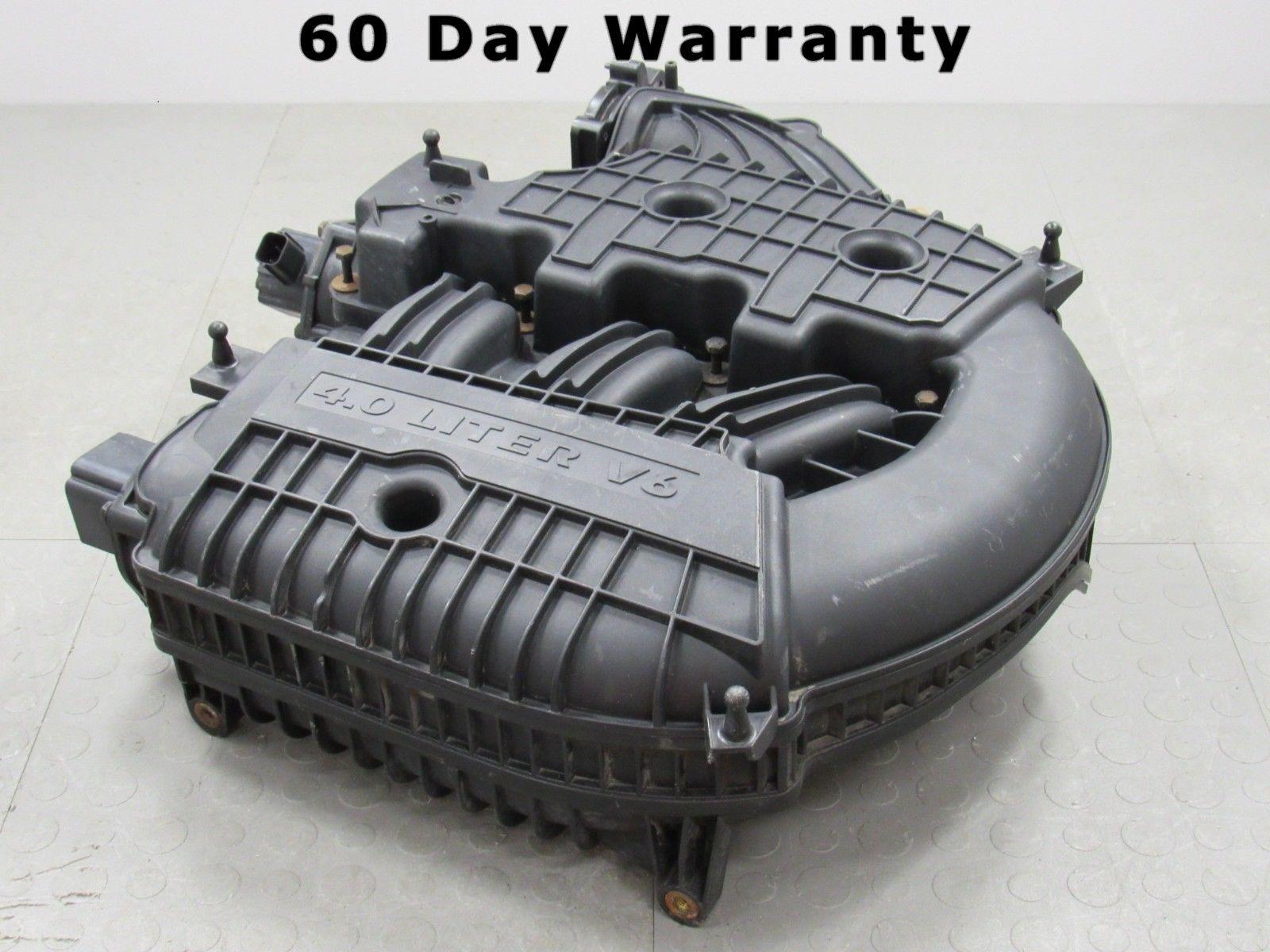 07 Chrysler Pacifica Dodge Nitro 4 0l Upper Intake Manifold Air Inlet Plenum W