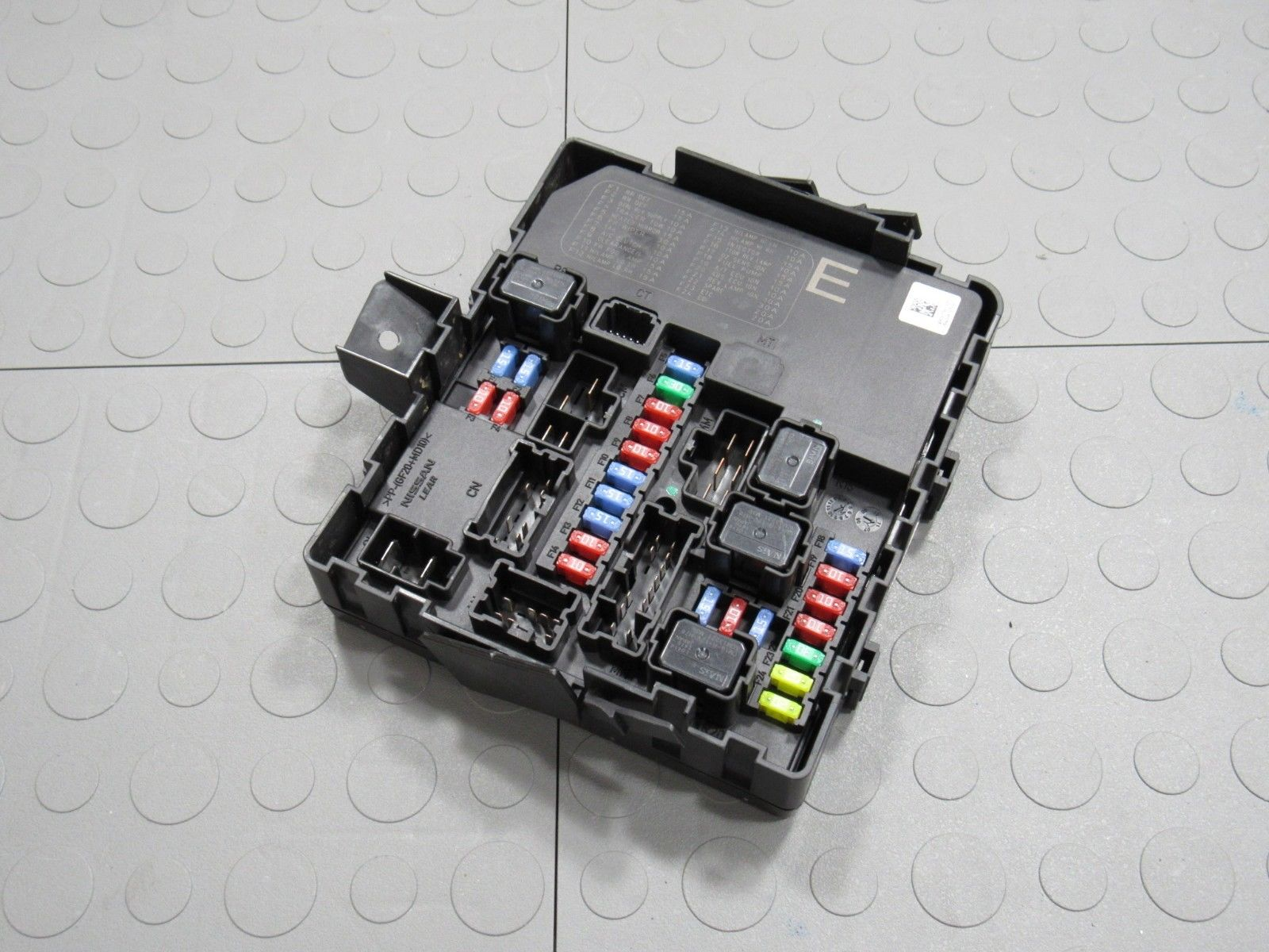 Frontier Fuse Box Detailed Schematics Diagram 2010 Charger Location On Body 10 Titan Armada Xterra Ipdm Bcm Module 284b7 Nissan Crew Cab