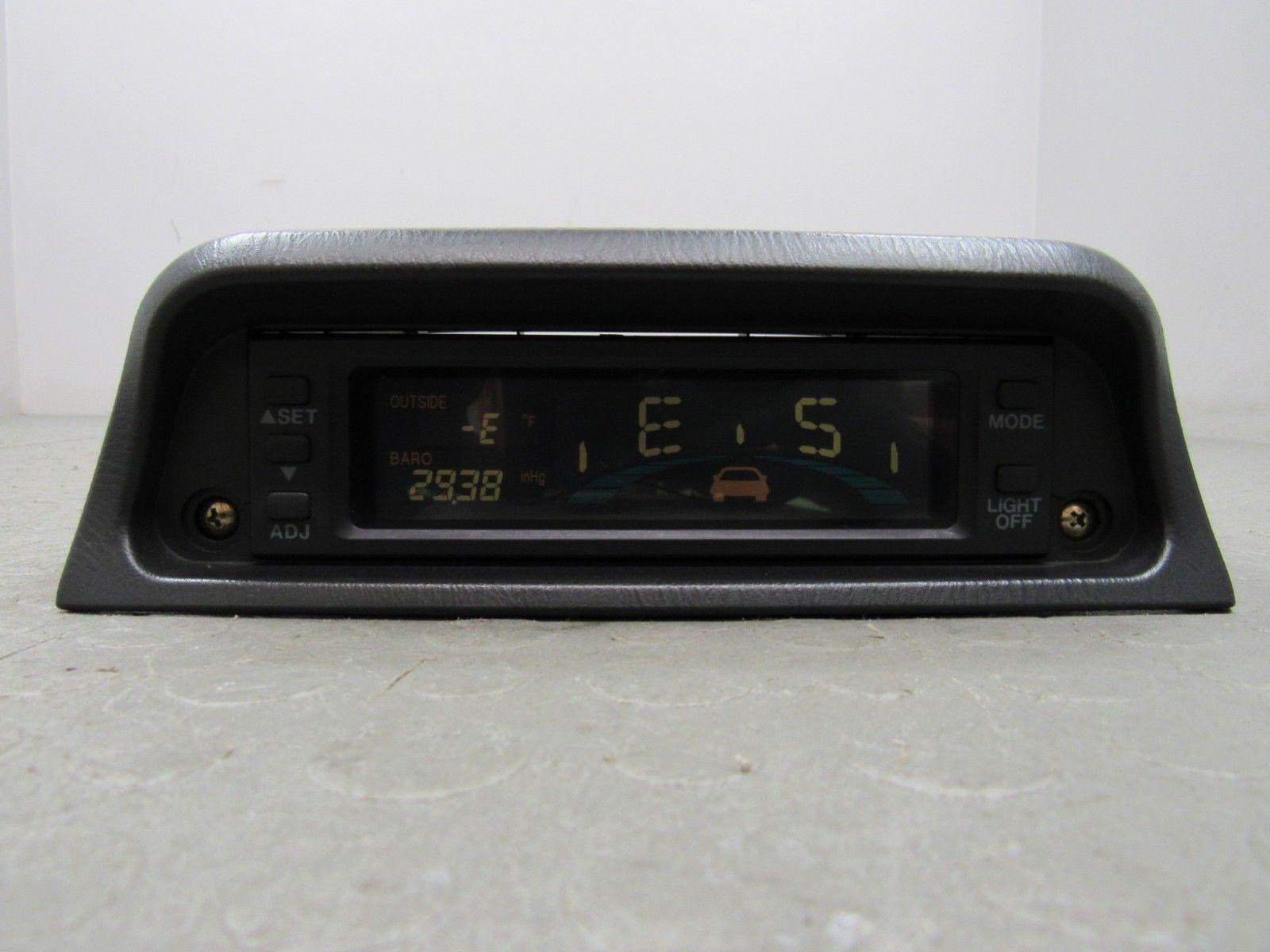 98-02 Forester / 98-01 Impreza Digital Gauge Pack Altimeter Barometer  Compass C