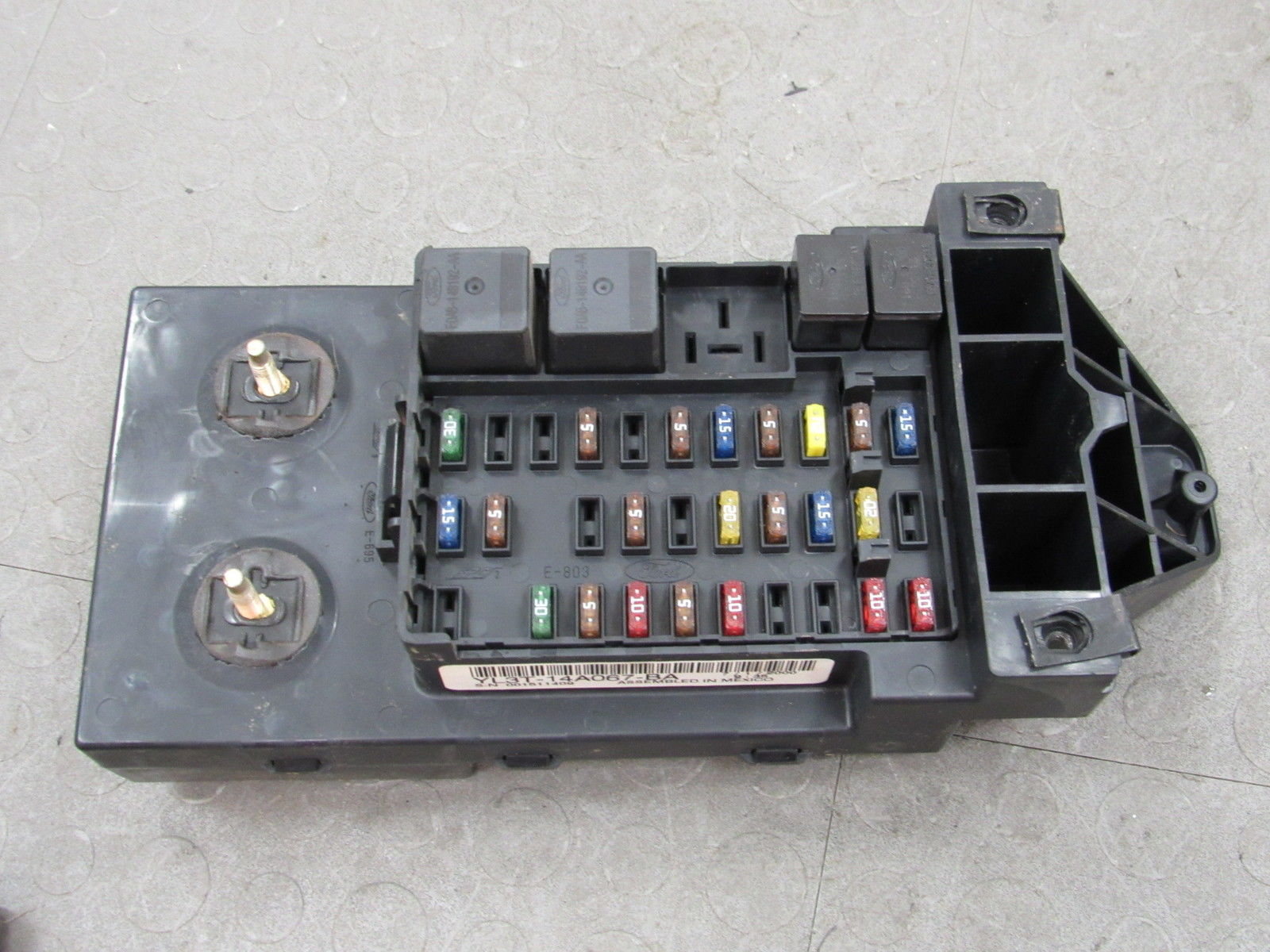 99 F150 Interior Fuse Box Wiring Diagrams Inside 00 Ford Dash Junction Relay Block Explorer
