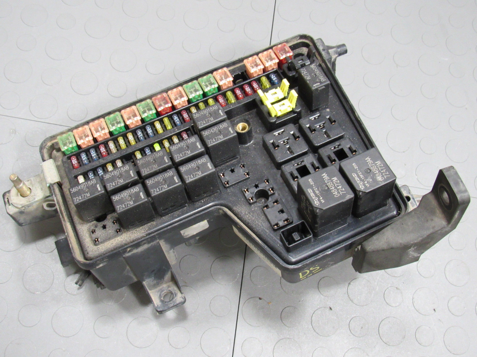 02 03 Dodge Ram Integrated Power Distribution Module Fuse Box 2002 Dodge Ram  1500 Fuse Box Diagram 02 Dodge Ram Fuse Box