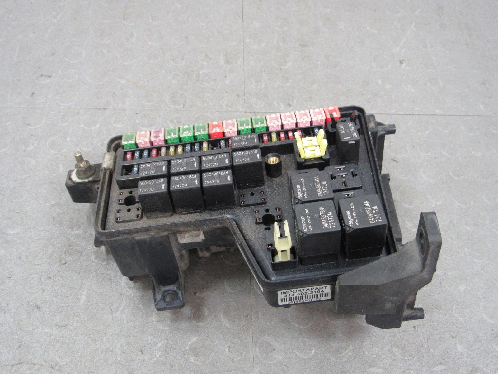 02-03 Dodge Ram Truck Integrated Power Module Fuse Box Block 56049680AA EF