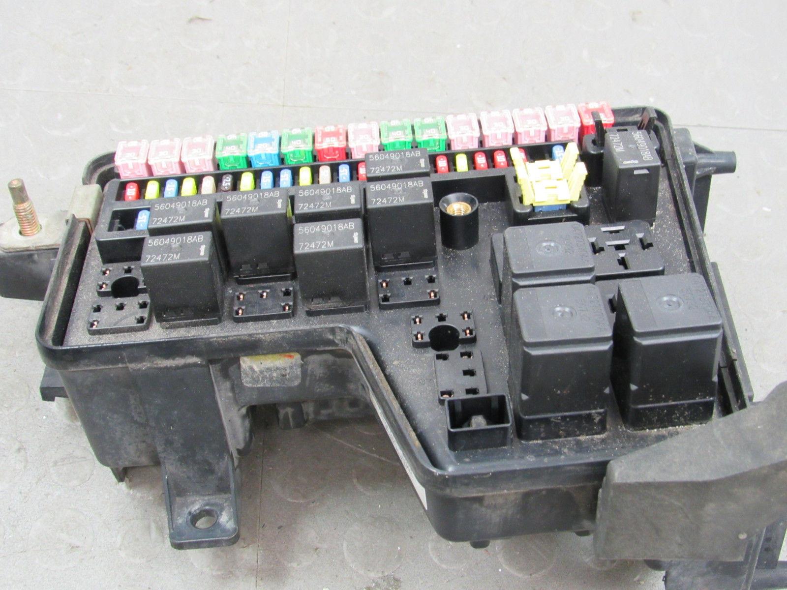 Dodge ram integrated power distribution module fuse box