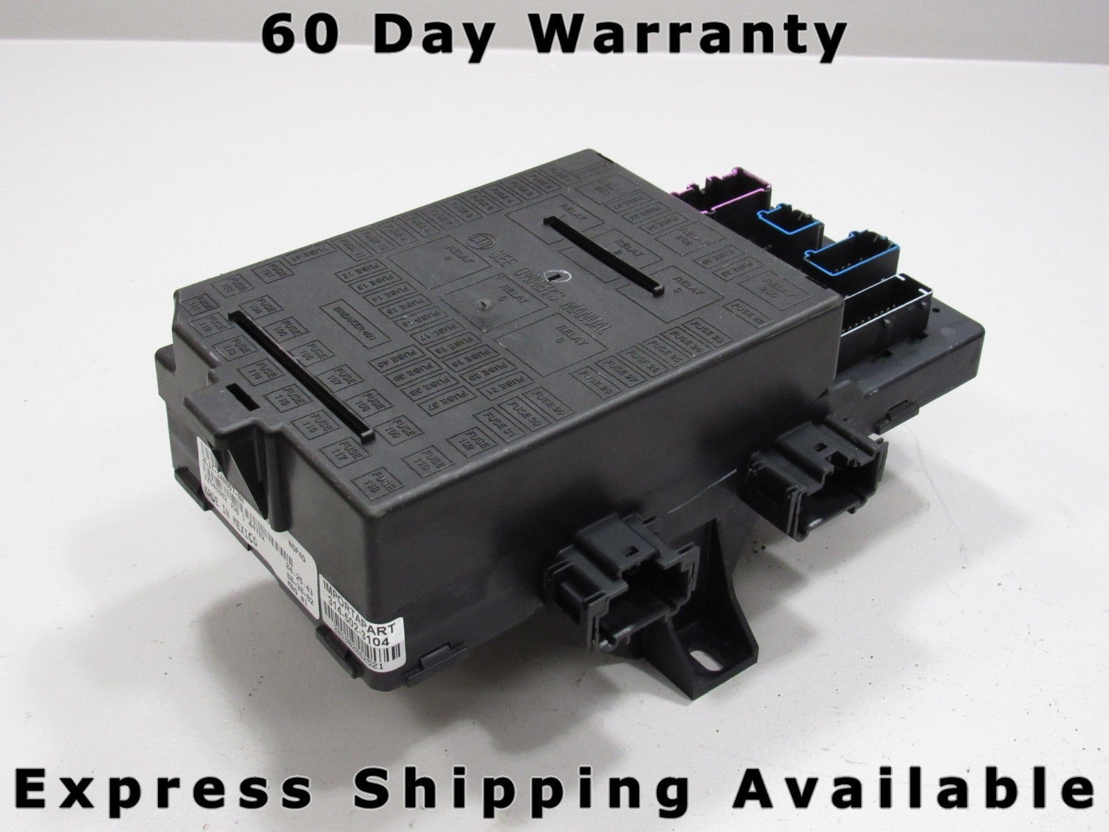 03 expedition navigator interior fuse relay box block center 2l1t-14a067-an  dg