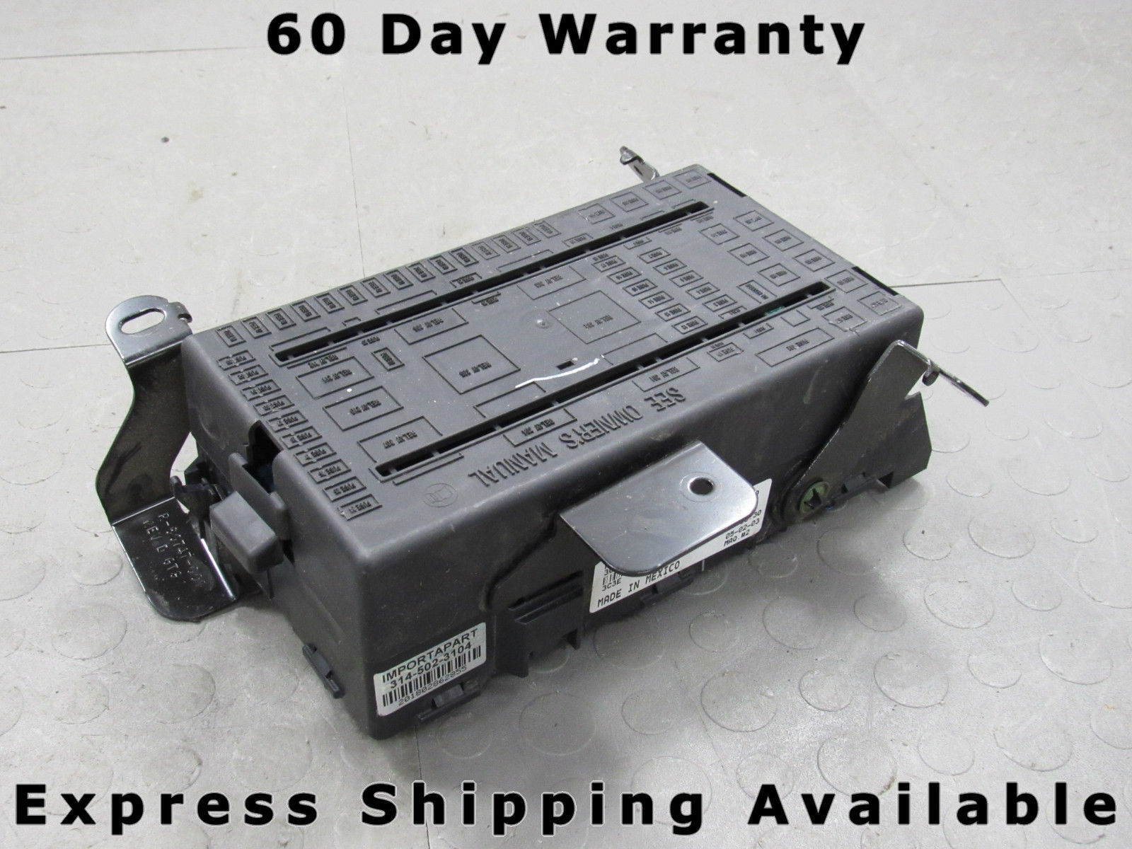 03-04 F250 F350 Super Duty Fuse Relay Power Distribution Block  3C3T-14A067-EC T
