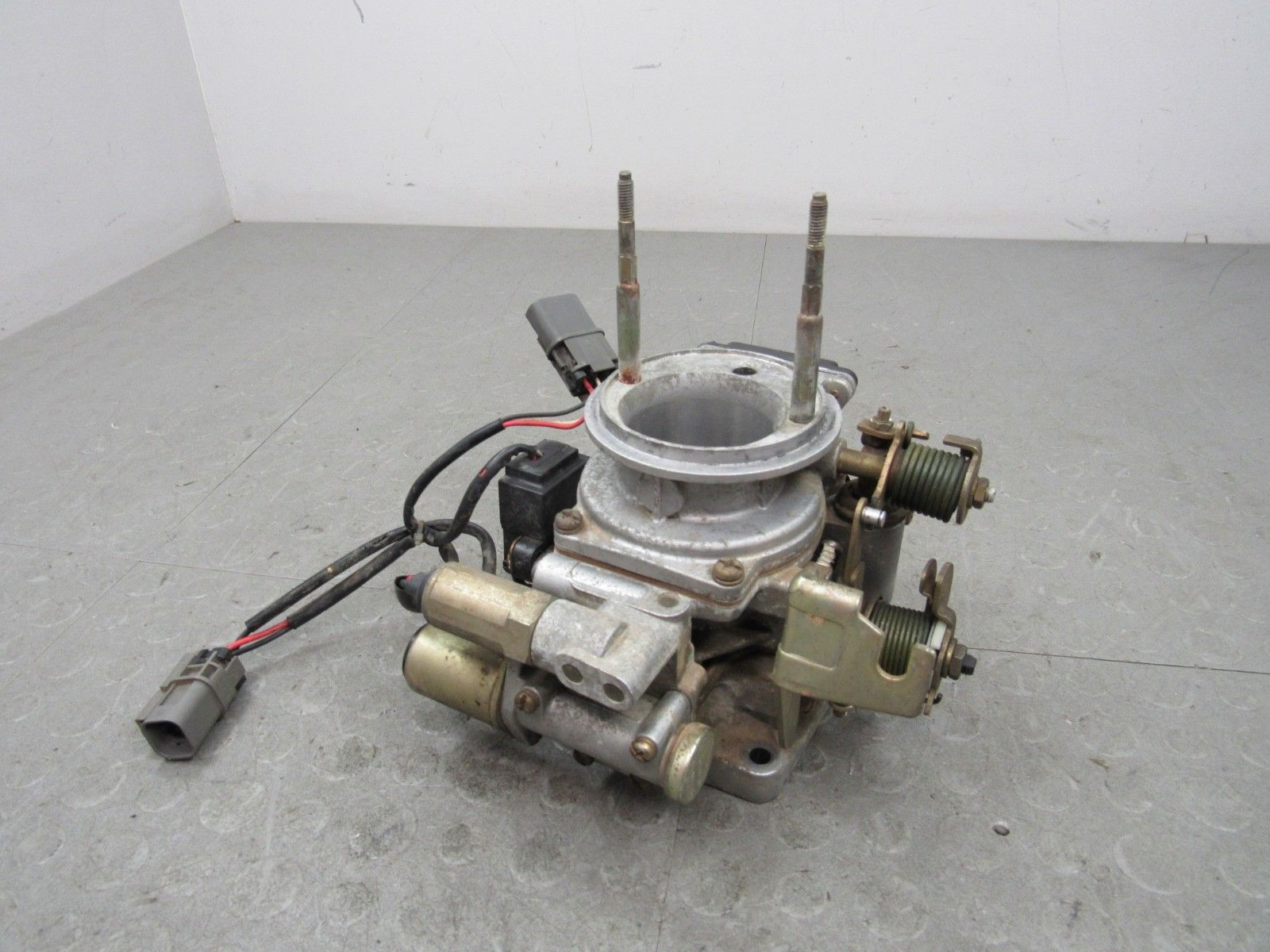 93-94 Nissan Pickup Truck KA24E 2 4L 4Cyl D21 Throttle Body TPS Complete  AFM XP