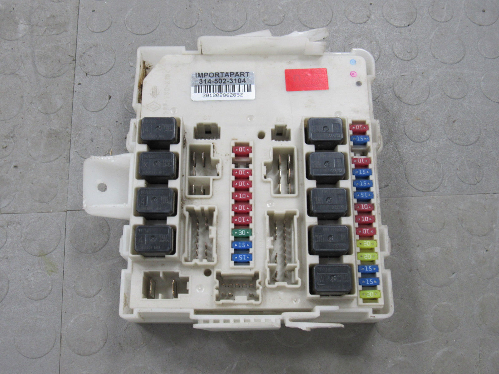 07 Titan Fuse Box Archive Of Automotive Wiring Diagram For 2005 Infiniti Qx56 09 Armada Xterra Ipdm Bcm Body Module 284b6 Rh Importapart Com