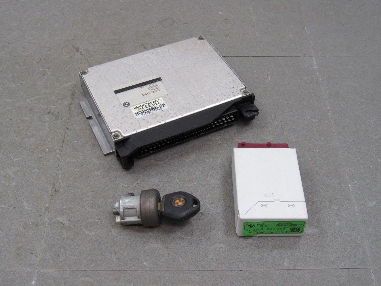 98 99 Bmw M3 S52b32 At E36 Dme Ews Ecu Ecm Pcm Engine Computer Key
