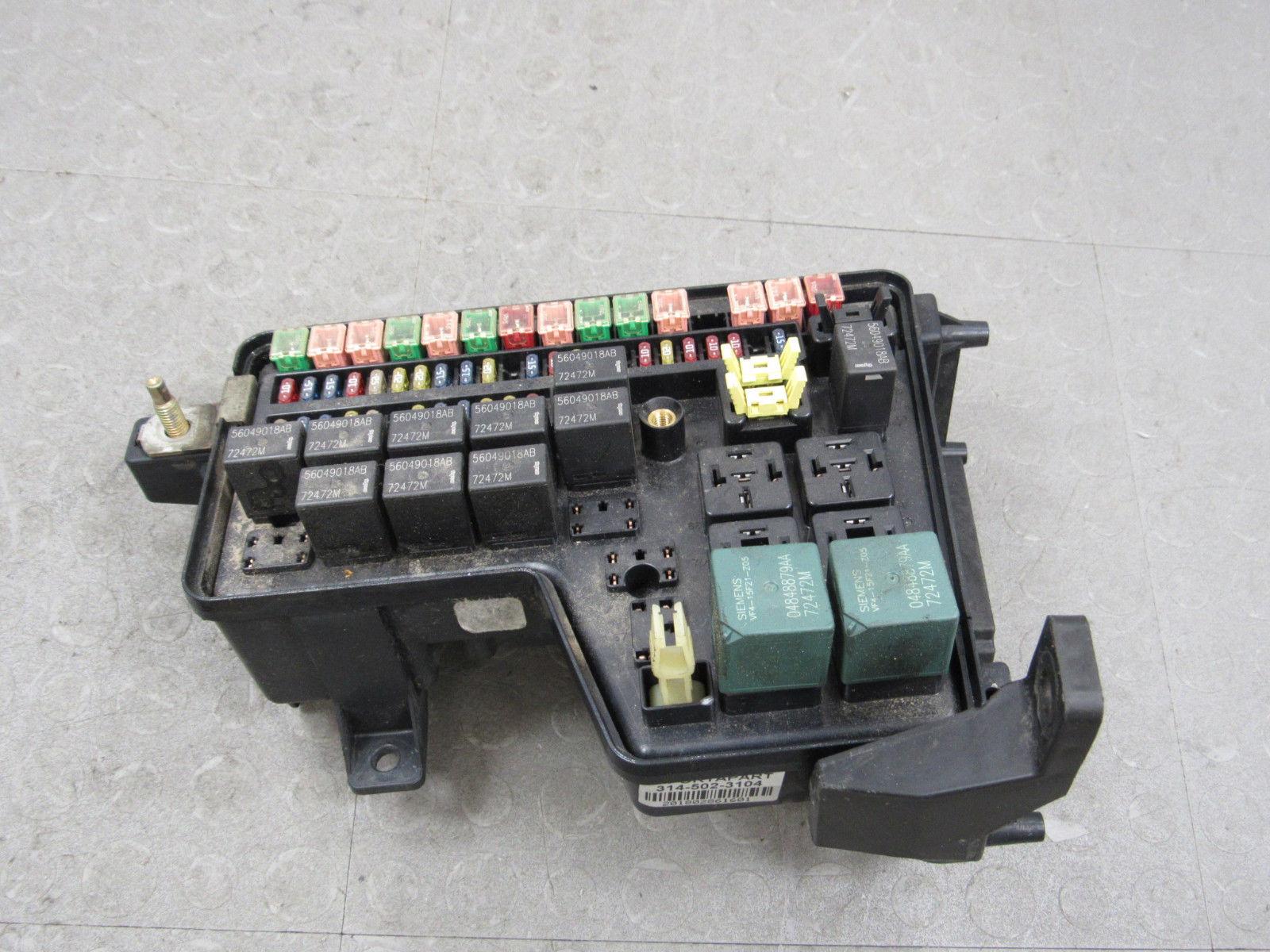 03 Dodge Ram Fuse Box Schematic Diagrams 02 Integrated Power Distribution Module 2006 1500 Diagram