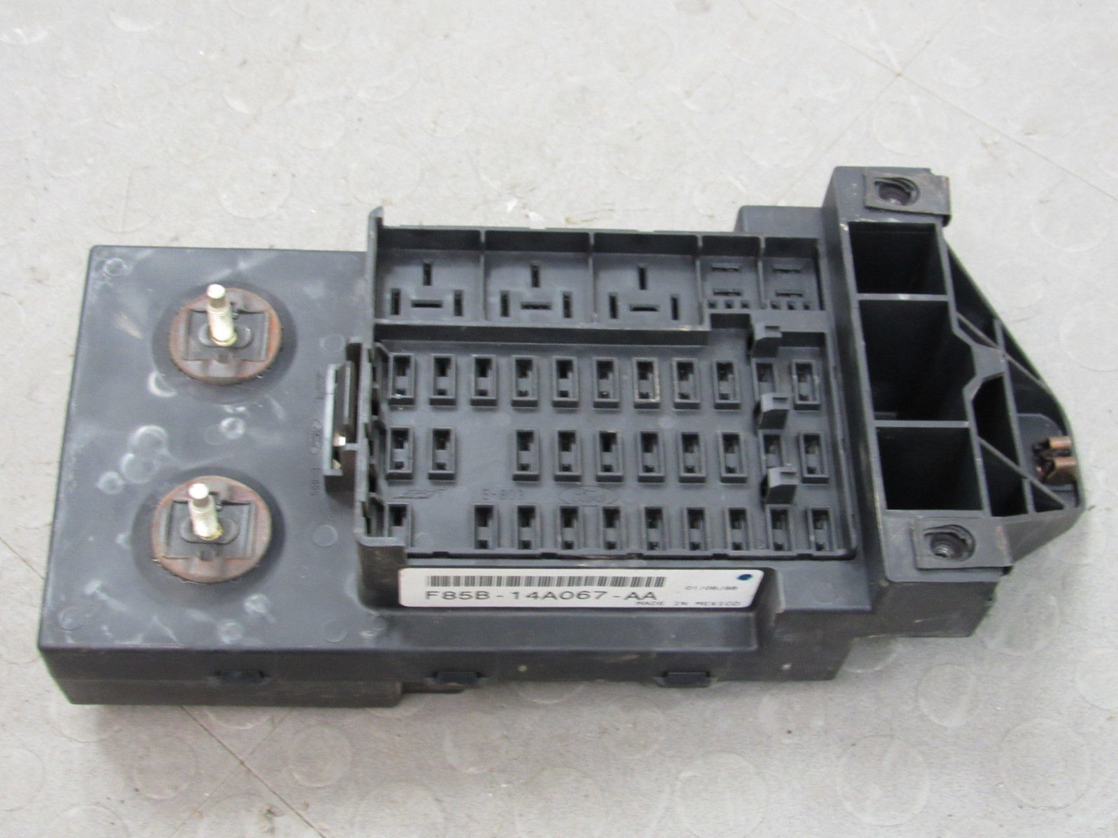 97-98 Ford F150 Interior Dash Fuse Box Junction Relay Block F85B-14A067-AA  M – Importapart