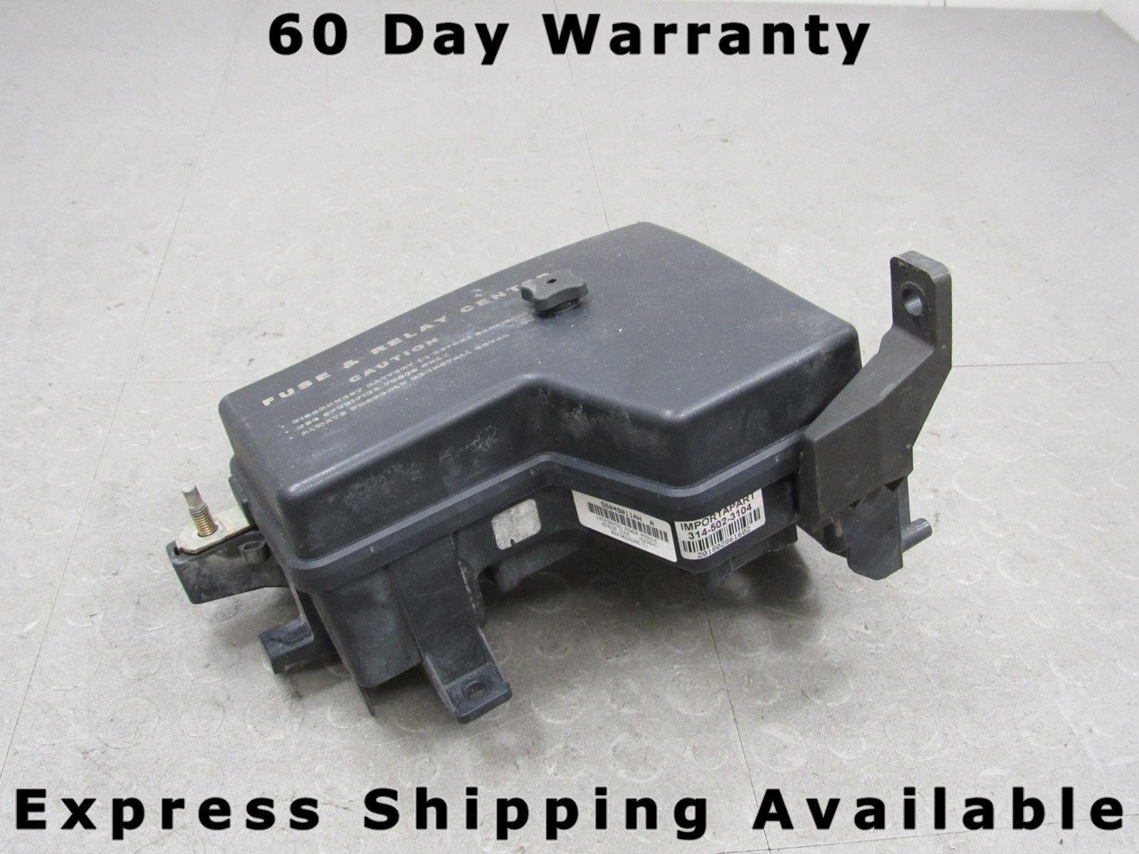 02-03 Dodge Ram Integrated Power Distribution Module Fuse Box 56049011AH EK  – Importapart