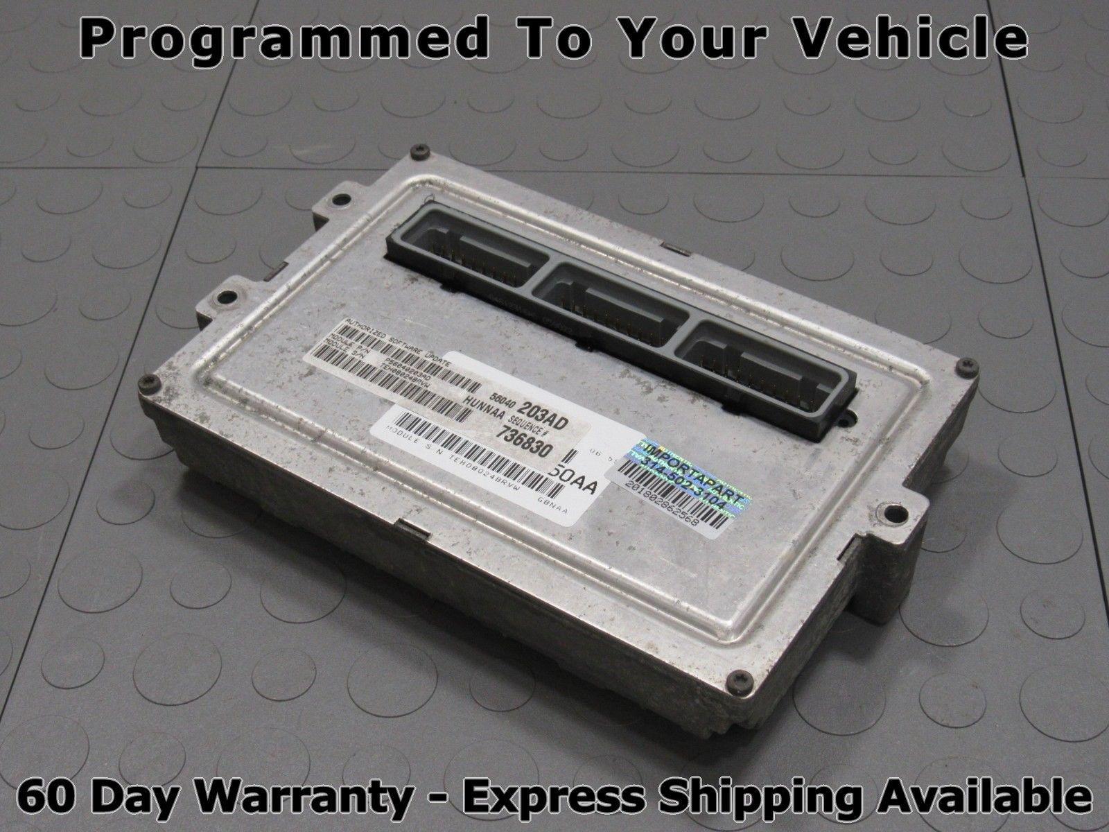 02 Dodge Ram 4 7 MT ECU ECM PCM Engine Control Computer 56040203AD 203 PROG  A