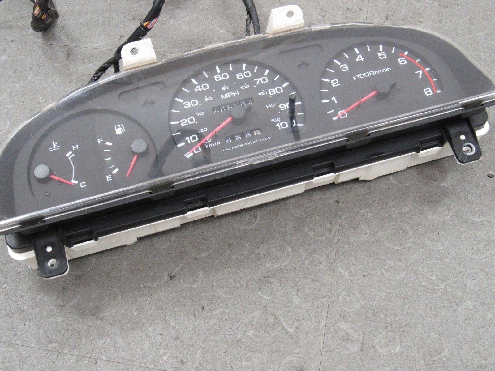 94-97 Nissan Pickup Truck Hard Body Instrument Gauge Cluster Tach Harness  208704