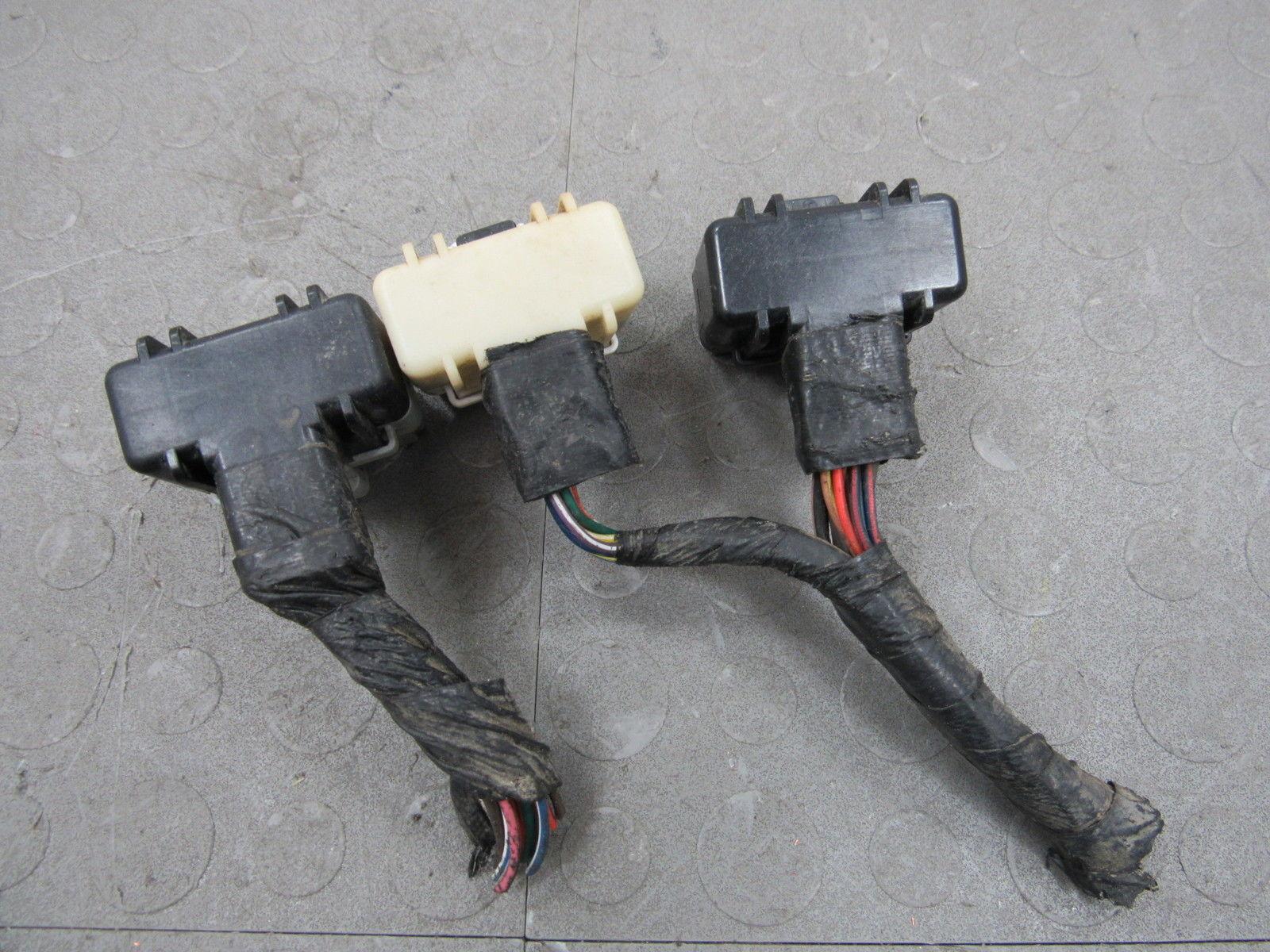 01 Dodge Dakota 25 Mt Ecu Ecm Pcm Computer Pigtail Wire Wiring An Outlet Plugs Harness Df