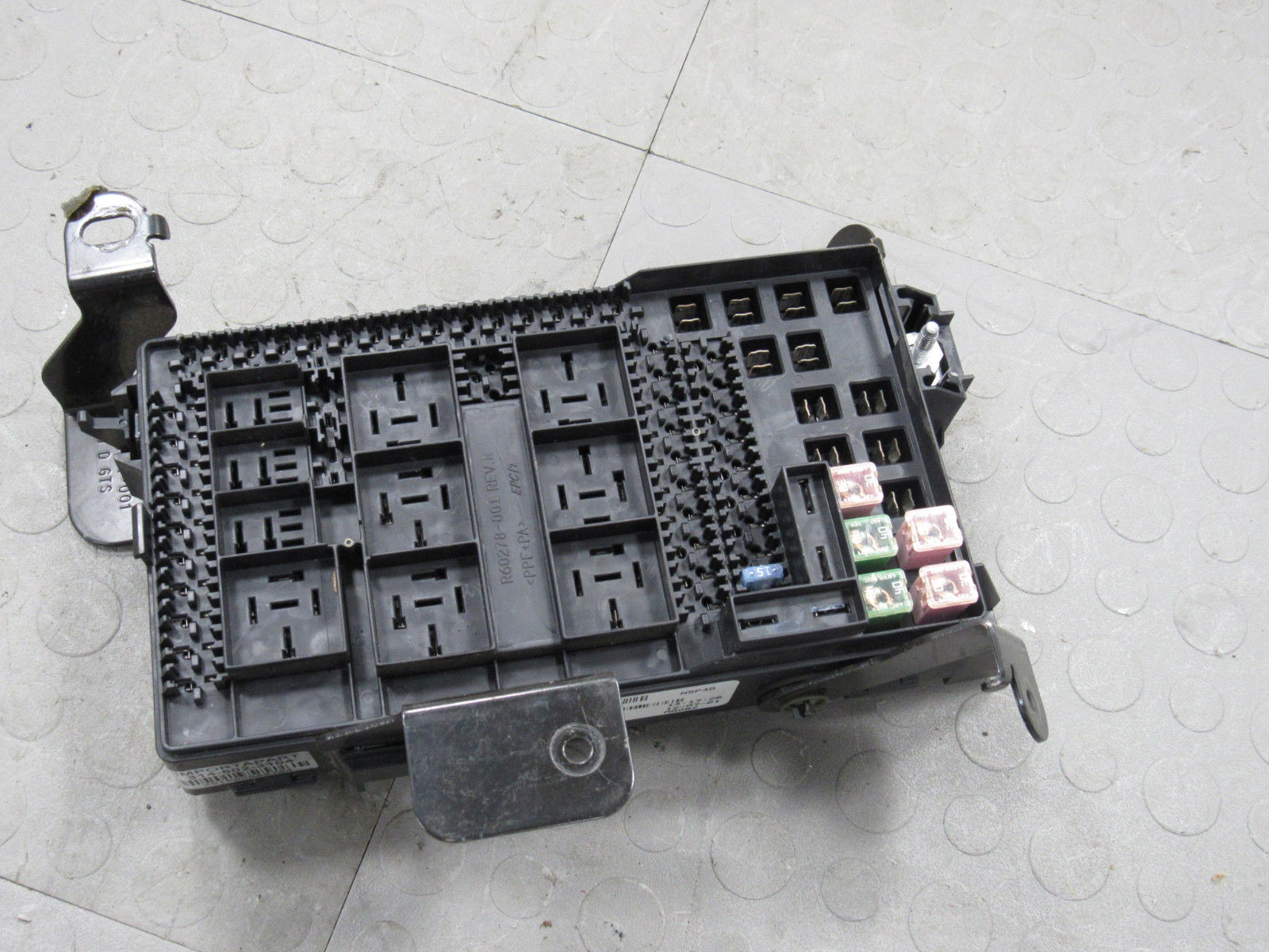 02 Ford F250 F350 Under Dash Fuse Box Junction Relay Block 2C7T-14A067-AN T  – Importapart