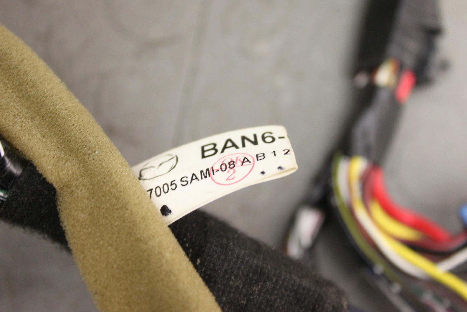06 09 Mazda 3 Mazda3 Interior Dash Dashboard Wiring Wire Harness Ban6 67 230 B