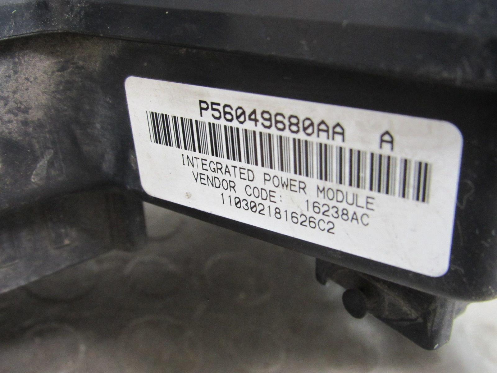 02-03 dodge ram truck integrated power module fuse box block 56049680aa dc