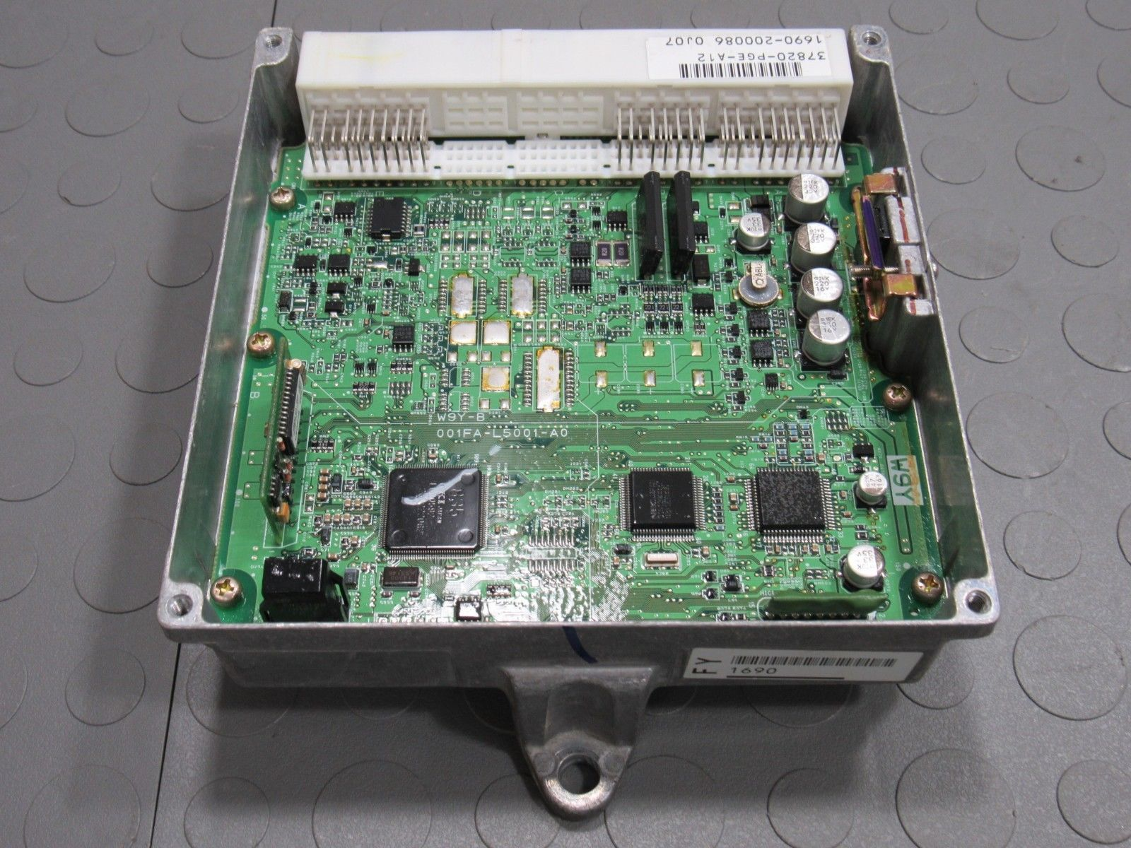 03 Acura CL Type S J32A2 MT ECU ECM PCM Engine Computer Key Set  37820-PGE-A12 A