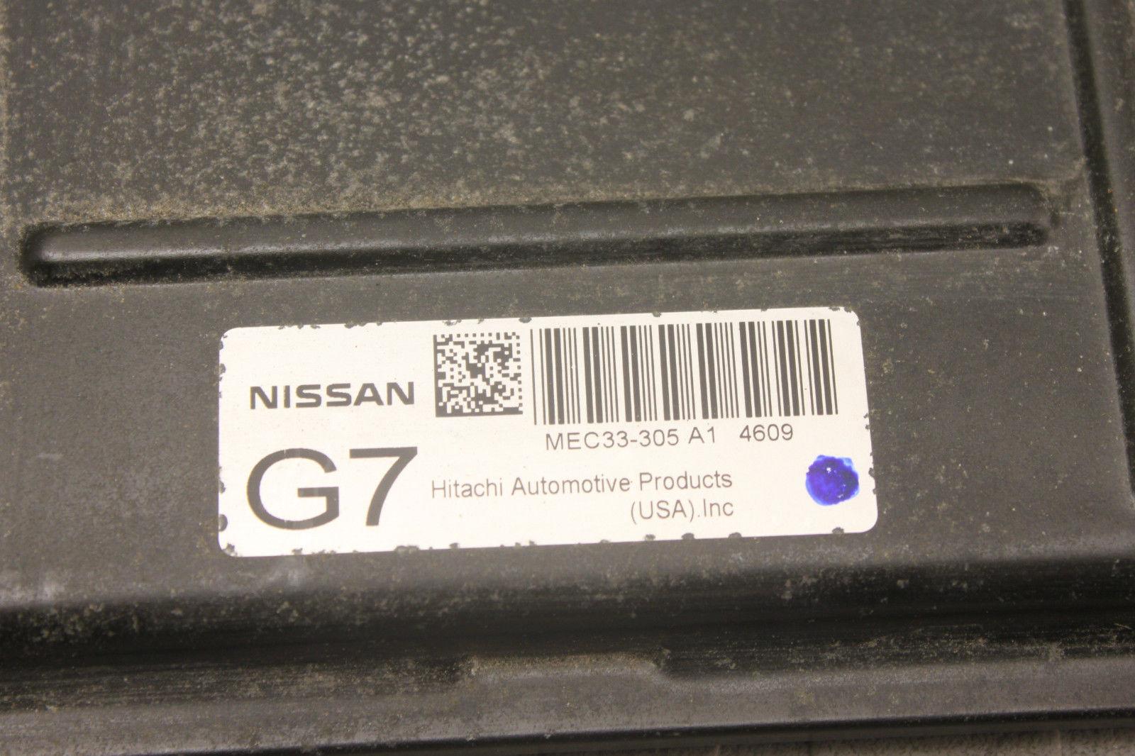 04 Nissan Sentra 1 8L AT ECU ECM PCM Engine Computer MEC33-305 A1 C