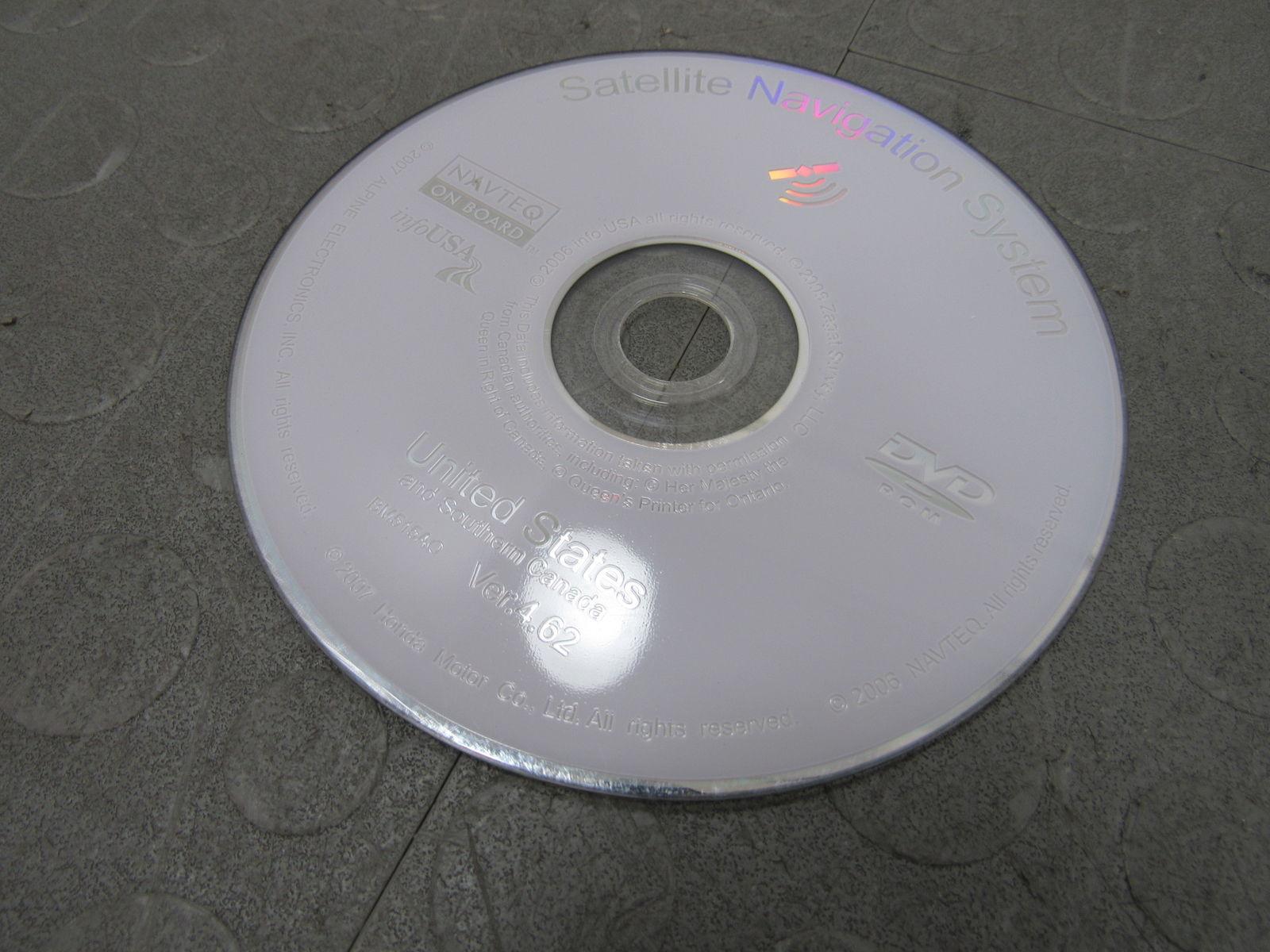 07 08 Acura TL GPS Navi Navigation DVD ROM Disc Drive Unit 39540 SEP A510 M1 B
