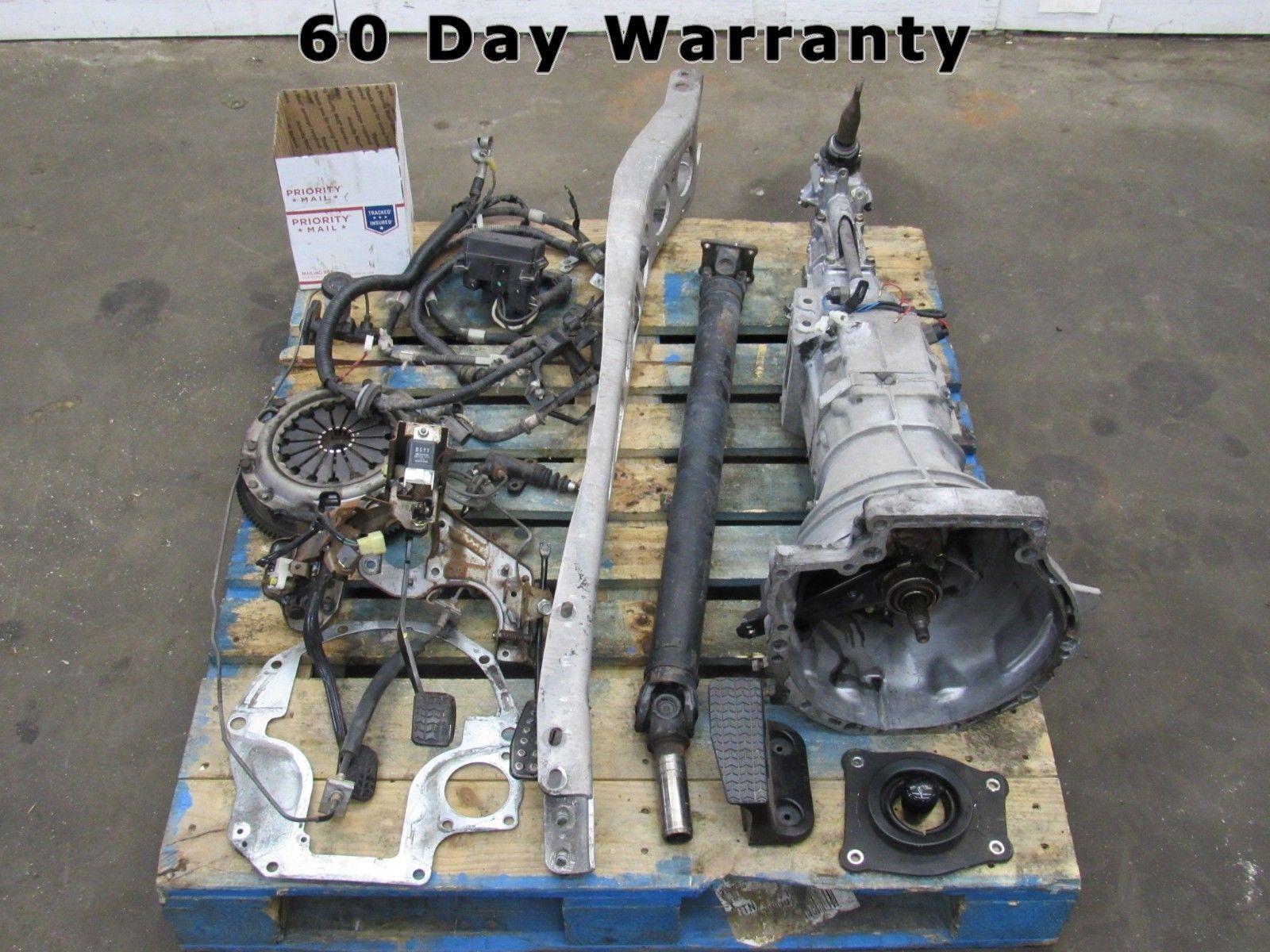 94-97 Mazda Miata Mx-5 Mx5 NA Complete 5-speed Manual Transmission Swap 90K  D