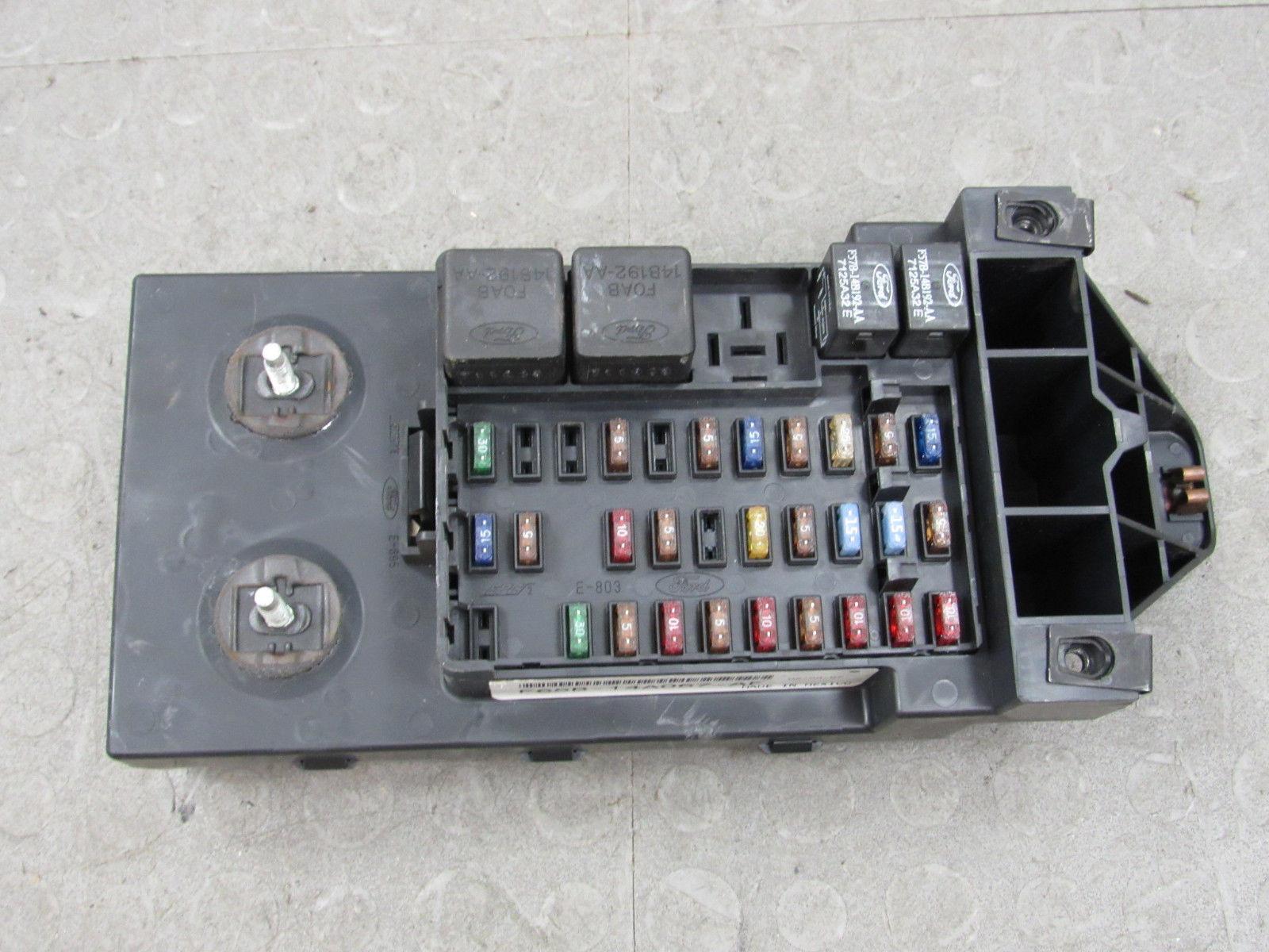 97-98 Ford F150 BCM GEM Multifunction Fuse Relay Box F75B-14B205-ND CX