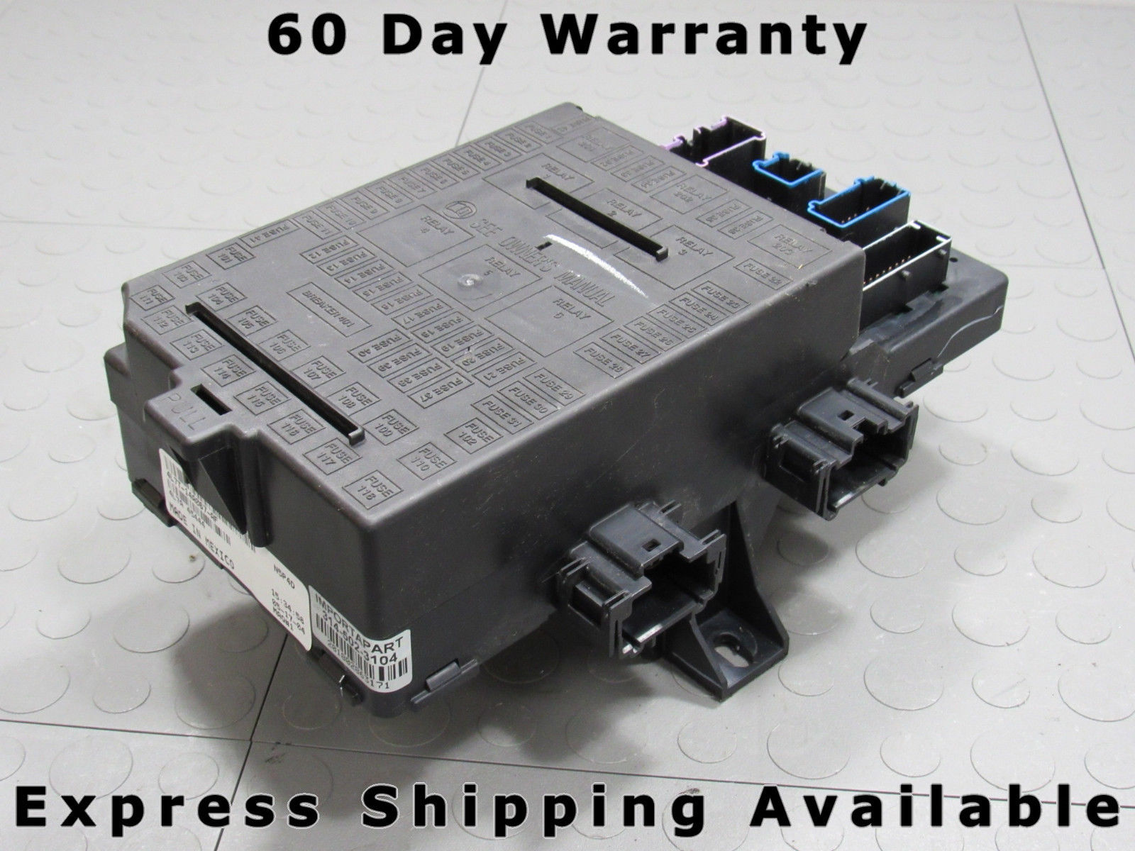 04 Expedition Navigator Interior Fuse Relay Box Block Center 4l7t 2004 Lincoln V8 14a067 Af Aj